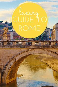 Luxury guide to Rome *from an expat in Rome* This is the city of La Dolce Vita – Rome is always glamorous! Well, not so much the area around Termini (the main train station), but everywhere else…The city centre is so breathtakingly beautiful, from the piazzas to the hills. You'll find Roman history and Renaissance art on every corner, along with some of the best designer shops and most luxurious hotels and restaurants.