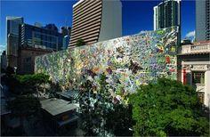 Wintergarden Façade, Brisbane, 2012