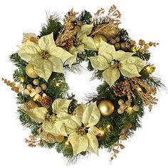WeRChristmas Decorated Pre-Lit Wreath Christmas Decoratio... https://www.amazon.co.uk/dp/B00KIS9IEI/ref=cm_sw_r_pi_awdb_x_WT.pybF28F0R9