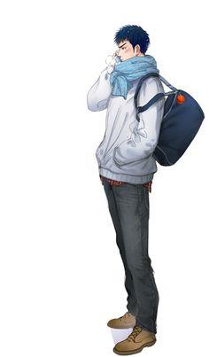 Hisashi Mitsui -「【SD】无题」/「moonjjj」の漫画 [pixiv]