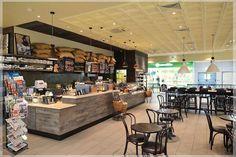 Coffee Shop Cafe Design, Custom Furniture, Coffee Shop, Liquor Cabinet, Interior, Kitchen, Architects, Shopping, Modern