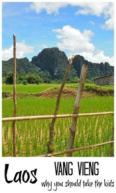 Beautiful Vang Vieng in Laos was formerly known for its wild party scene, but things have changed, what we found was a quiet, peaceful village, perfect for families. Grab your kids and head to Vang Vieng!