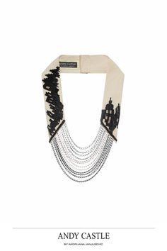 Necklaces A/W 2012 by Andrijana Janjusevic, via Behance