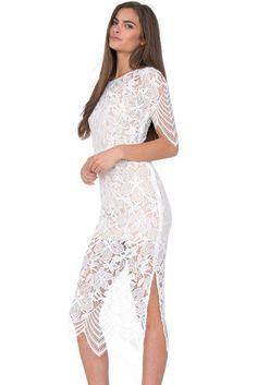 Sexy Luna Lace Maxi Dress