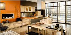 designer kitchen backsplash ideas galley kitchens designs ideas budget kitchen design ideas #Kitchen