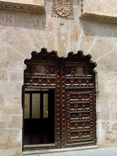 @PinFantasy - El Burgo de Osma, Soria, Spain - door ~~ For more:  - ✯ http://www.pinterest.com/PinFantasy/arq-~-puertas-y-ventanas-doors-windows/