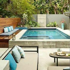 pool decor paradise 77 Gorgeous Small Pool Design for the Backyard