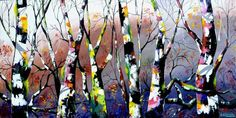 """Buy Surreal Art - """"Woodland Pop"""", Acrylic painting by Andrew Alan Johnson on Artfinder. Discover thousands of other original paintings, prints, sculptures and photography from independent artists."""