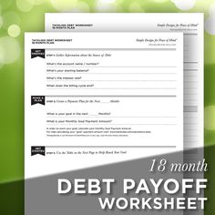 Tools For Debt Reduction  Debt Snowball Calculator  Finances