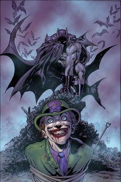 Batman 699 Cover By TS Daniel