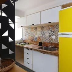 10 Cozinhas com revestimentos de porcelanato ladrilho! - Jeito de Casa