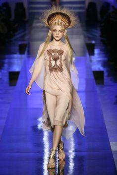Jessica Stam @ Jean Paul Gaultier Haute Couture S/S 2007, Paris