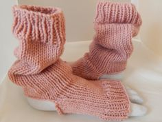 Slouchy Knit Yoga Socks for Women by Head2URToes on Etsy, $18.00