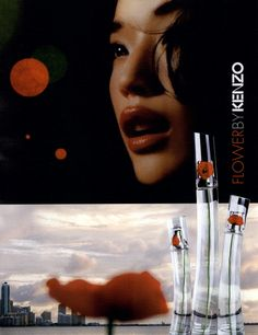 Kenzo Fragrance #Ad Campaign Flower Shot #1