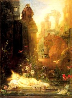 Gustave Moreau (1826-1898) Young Moses