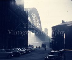Newcastle Tyne Bridge a Study in Indigo K.C.M. Symons Stereo Realist Stereoview | eBay