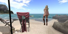https://flic.kr/p/QdwDde | Beezy Beach walk | Visit this location in Second Life