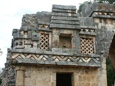 mayan stone houses - Google Search