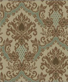 Page 4 of 6 for damask wallpaper Waverly Wallpaper, Damask Wallpaper, Vinyl Wallpaper, Bathroom Wallpaper, Diy Wall Art, Wall Art Decor, Victorian Bath, Color Pallets, Paint Pallets