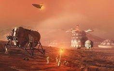 Existe Vida Marciana e Humana em Marte: Declarações no 17º Congresso Internacional de Ufologia