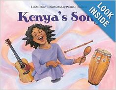 Kenya's has to pick a favorite song for school. She goes with her father to the Caribbean Cultural Center where he plays music and she hears music from Cuba and Trinidad, Haiti and Puerto Rico and in different languages—French, English, Spanish.