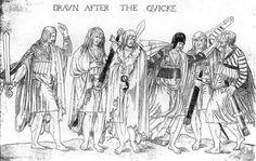 Irish kerns - mid 16th century