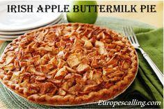 Irish Buttermilk Pie www.europescalling.com