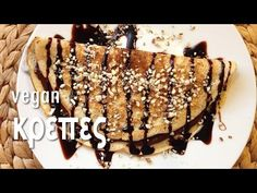 Vegan & Νόστιμο: Vegan Κρέπες Clean Eating, Snacks, Vegan, Desserts, Recipes, Food, Youtube, Tailgate Desserts, Eat Healthy