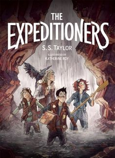 Book: The Expeditioners and the Treasure of Drowned Man's Canyon Author: S. Taylor Illustrator: Katherine Roy Pages: 320 Age Range: 10 and up The Expeditioners by S. Taylor (illustrated by Katherine Roy) is the first middle grade novel. Reading Adventure, Adventure Novels, New Books, Good Books, Books To Read, Summer Reading Lists, Kids Reading, Thing 1, Book Trailers