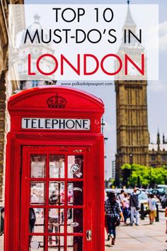 Ten cheap, awesome things to do when visiting London!