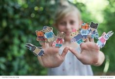 Fun DIY Finger Puppets | Photography and Design by Lia Griffith