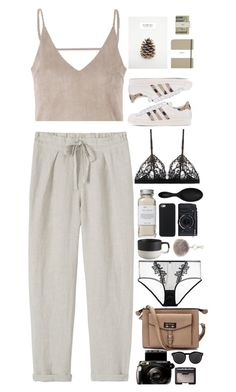 Untitled #2727 by wtf-towear on Polyvore featuring polyvore, fashion, style, Toast, ELSE, La Perla, adidas Originals, Illesteva, NLY Accessories, NARS Cosmetics, Très Pure, Sephora Collection, CB2, Shinola, Jack Spade and clothing