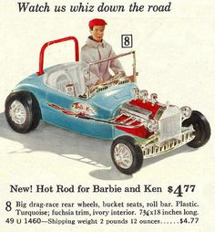 Ken's Hot Rod by Irwin, 1963