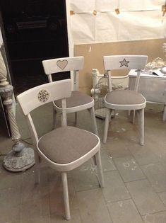 Decorare vecchie sedie recuperare una sedia sedie for Sedie shabby chic usate