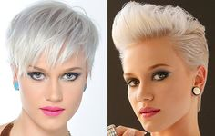 New Trendy Blonde Short Haircuts 2013