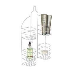 Howards Storage World | Shower Caddy For Hand Held Showers   White