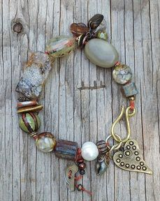 "MarketPlace ""Muddy"" Bracelet by Toni McCarthy"