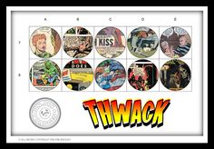 Thwack! BAM! Images from old comic books - BOOM! ZWOOSH! THWACK!!!!