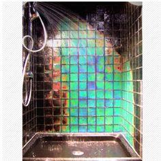 Heat sensitive #showertile @Fancy