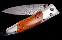 """William Henry Pocket Knife – B30 Gentac """"Outback"""" $875.00"""