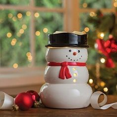 #CandleMeltWarmers  Snowman Illumination  This Happy Snowman with a red necktie and coal black hat will warm up the winter months this Holiday!  Save 15% thru 10/31/2016 Use Coupon Code: boo15  SHOP LINK IN BIO http://ift.tt/1WhkN1f