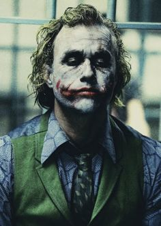 The Joker | The Dark Knight. Heath Ledger, one of the best yet.