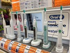 Phillips Toothbrush Tethers For Anti-Theft – Fixtures Close Up Point Of Purchase, Signage, Retail, Lanyards, Point Of Sale, Billboard, Signs, Sleeve, Cash Register