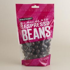 One of my favorite discoveries at WorldMarket.com: World Market® Dark Chocolate Espresso Beans, Set of 3