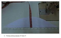 Just Sweet and Simple: Tutorial : Jahit Telekung Sewing Tutorials, Prayers, Simple, Sweet, Diy, Fashion, Note, Moda, Bricolage