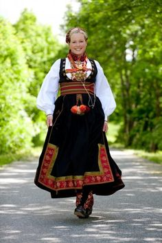 Bunad - Beltestakk from Telemark Folk Costume, Costumes, Scandinavian Folk Art, Traditional Outfits, Norway, Hipster, Folklore, Clothes, Photography