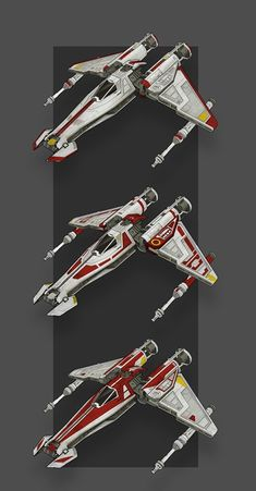 Republic Scout paint jobs