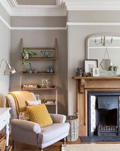 Cosy living room corner