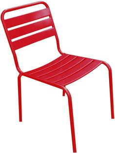Stoel Montsouris - rood - La Chaise Longue