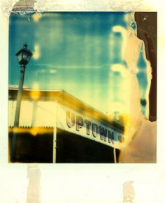 Uptown - polaroid by City On Fire Japanese Photography, Landscape Photography, Video Photography, Amazing Photography, Photo Class, Old Cameras, Film Images, Blur Photo, Polaroid Pictures